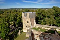 Cesis castle, northern tower