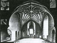 Hall of Master in Cesis castle, A.Gulecke.