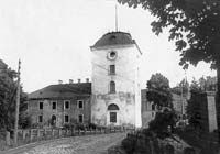 Krustpils castle in 1920ies