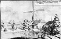 Zasumuiza manor at the mill in 1794