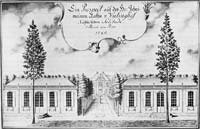 Zolitude manor in 1785
