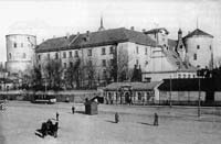 Daugava facae of Riga castle in beginning of 20th century