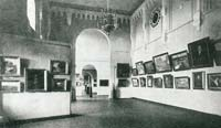 Riga castle, premises of Art Museum, 1930ies